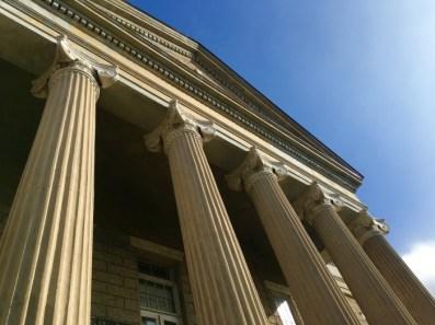 Old Court House Museum Vicksburg Mississippi Columns