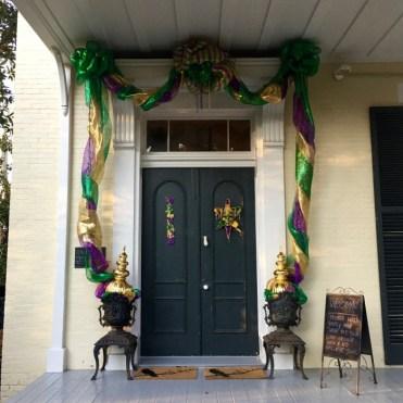 McRaven Tour Home Door Vicksburg Mississippi