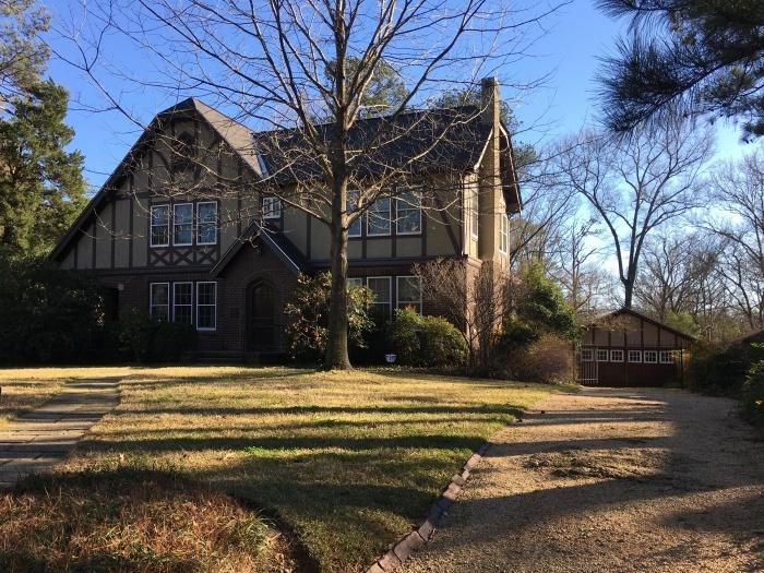 Eudora Welty Home Garden Jackson Mississippi