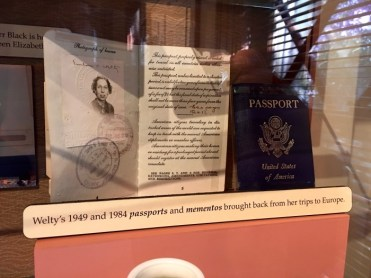 Eudora Welty Visitor Center Jackson Mississippi Passport
