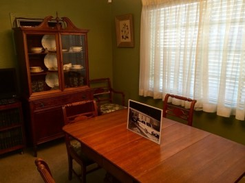 Medgar Evers Home Museum Jackson Mississippi Dining Table