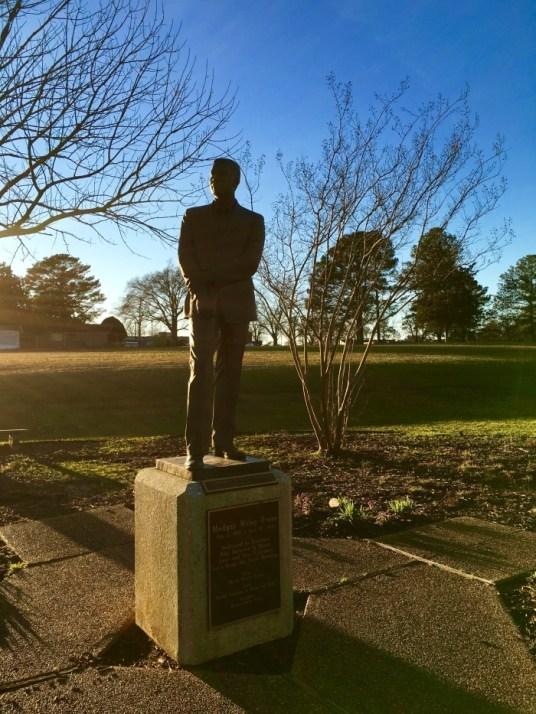 Medgar Evers Statue Jackson Mississippi