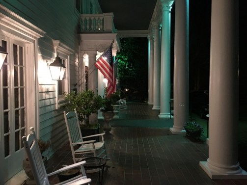 Porch Fairview Inn Jackson Mississippi