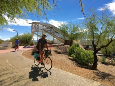 Tucson Bike Tours Rattlesnake Bridge Arizona