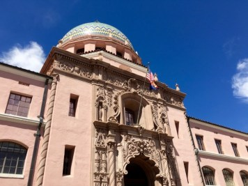 Old Pima County Courthouse Tucson Arizona