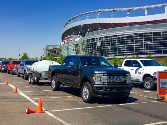 IMG 4425 - The All-New 2017 Ford Super Duty Owns Recreation!