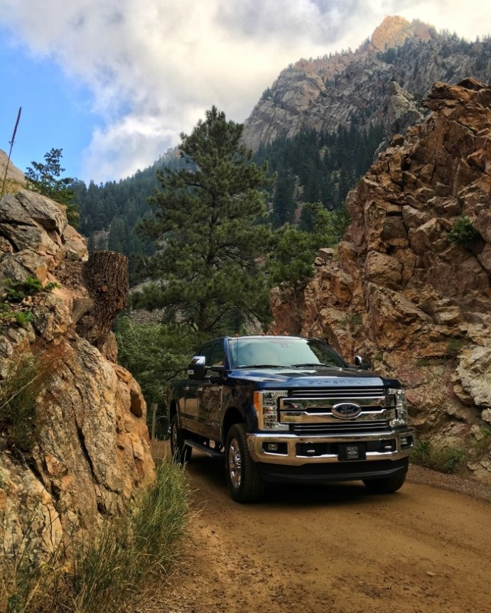 2017 Ford Super Duty Eldorado Canyon State Park Colorado