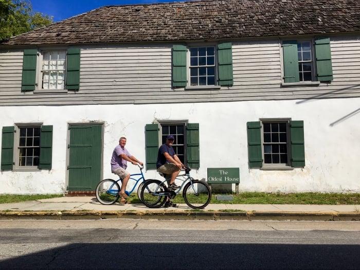 Bikes Oldest House St Augustine Florida