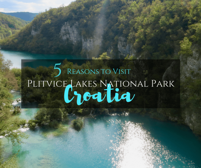 5 Reasons to Visit Plitvice Lakes National Park in Croatia