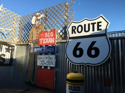Big Texan Amarillo Texas Signs