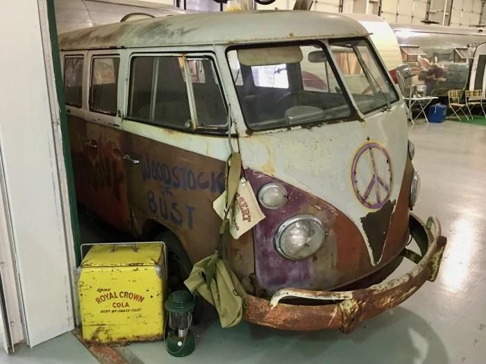 VW Van Rusty Woodstock