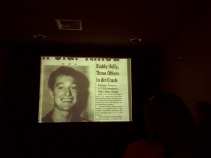 Buddy Holly Center Newspaper