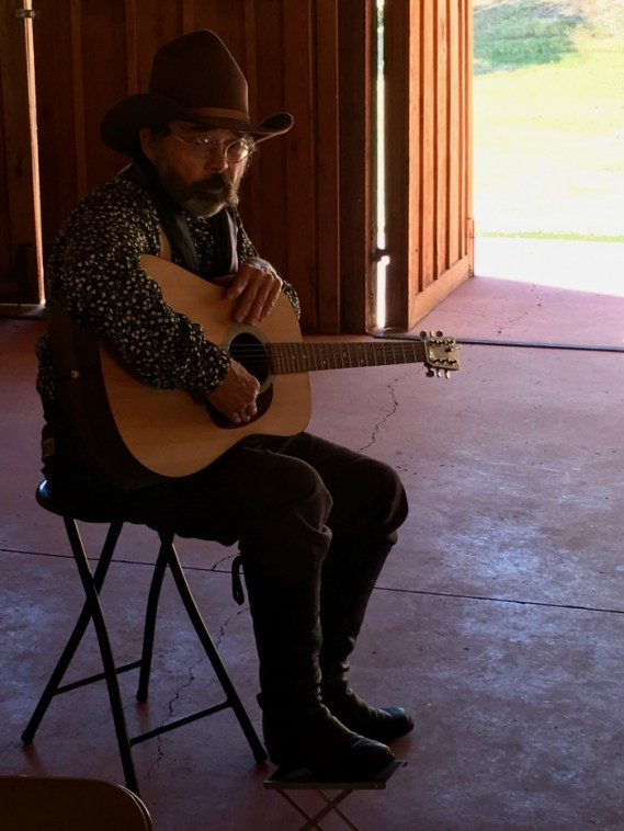 John Levacy Cowboy Poet Singer National Ranching Heritage Center Lubbock Texas