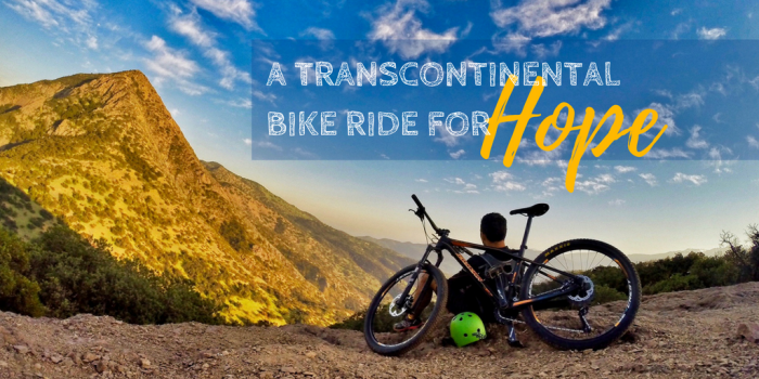 Adrian Marziliano Transcontinental Bike Ride for Hope