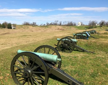 Cannon Vicksburg Mississippi National Battlefield