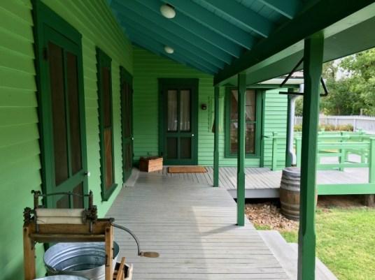 Nash Farm Porch Grapevine Texas