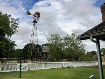 Windmill Picket Fence