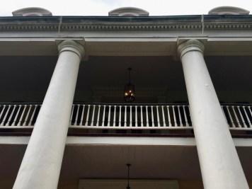 Houmas House pillars