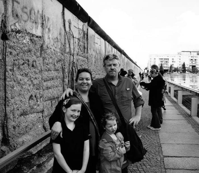 Mark & family of Wyld Family Travel