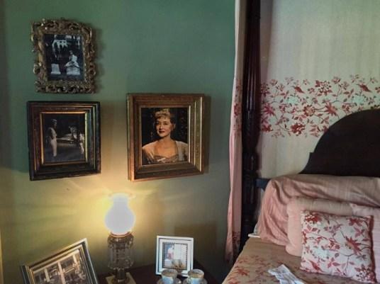 Bette Davis bedroom at Houmas House Louisiana