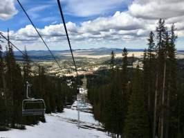 Sunrise Ski Resort Chair Lift