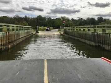 Woodland Ferry crossing