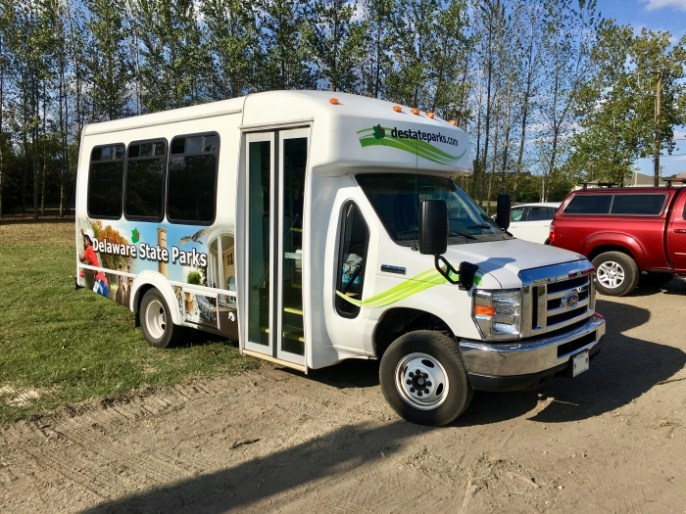 Delaware State Parks bus