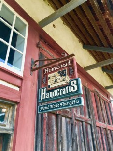 Homestead Heritage gift shop sign