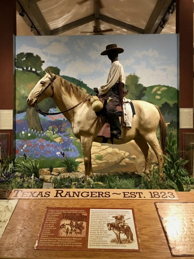 Texas Rangers display