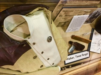 Walker Texas Ranger costume exhibit