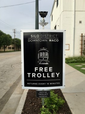 Magnolia Market trolley sign