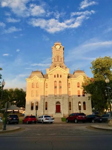 Hood County Courthouse Granbury, Texas