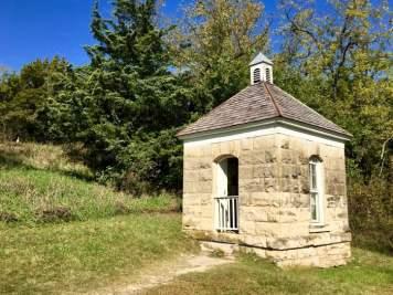 limestone outhouse