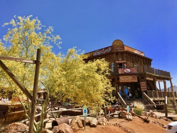 mercantile at Goldfield Ghost Town Arizona