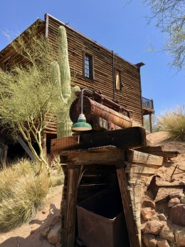 mine at Goldfield Ghost Town Arizona