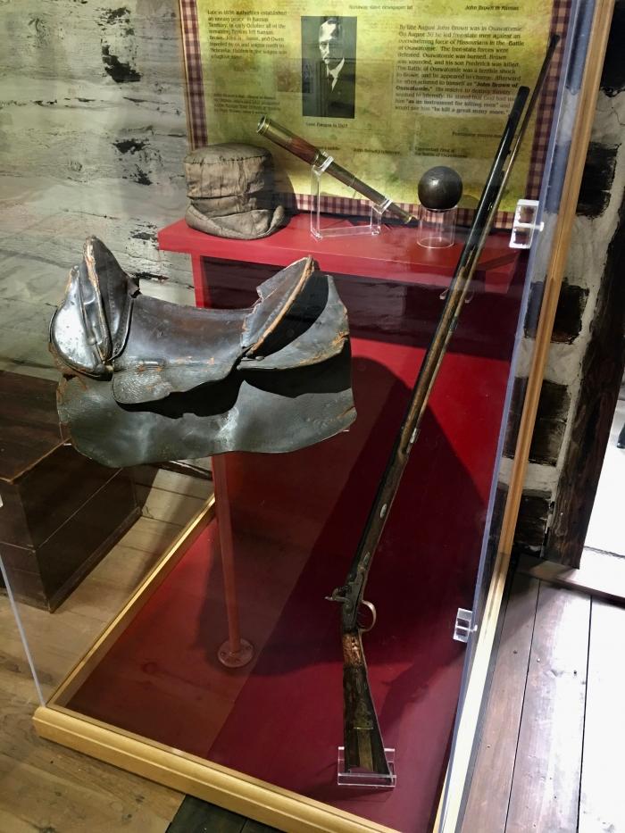 John Brown Museum Kansas saddle