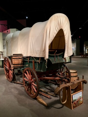 Kansas Museum of History covered wagon - Explore Civil Rights History in Topeka, Kansas: 5+1 Key Sites