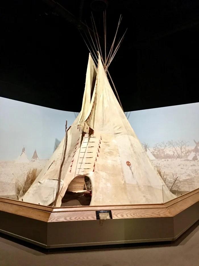 Kansas Museum of History tipi