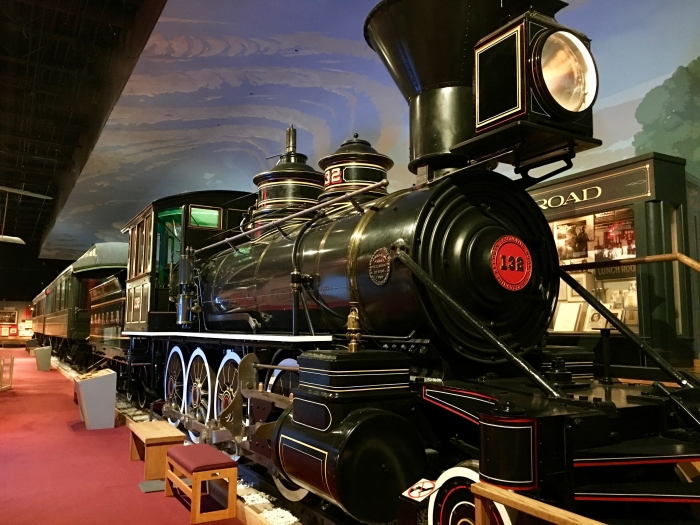 Kansas Museum of History train locomotive