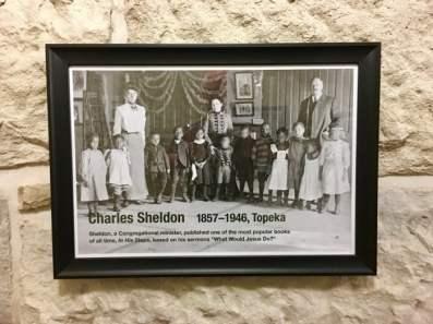 Kansas State Capitol Charles Sheldon