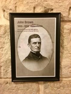 Kansas State Capitol John Brown photo