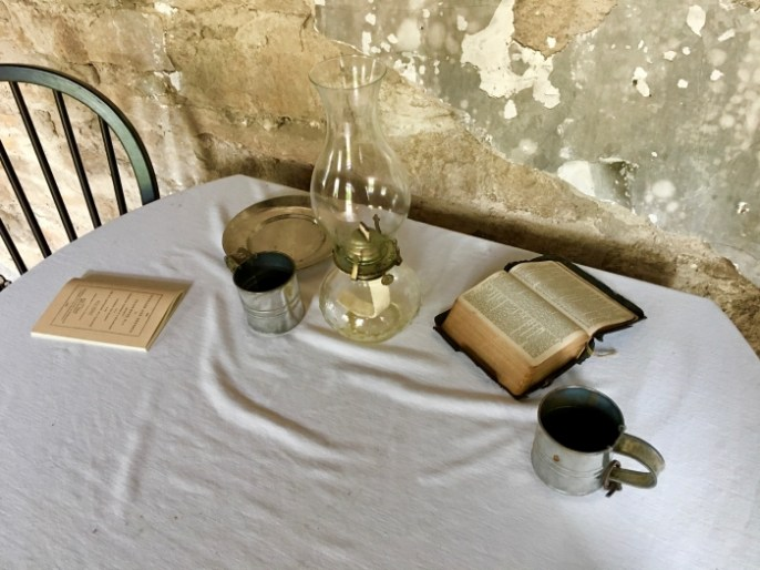 Ritchie House Topeka Bible table