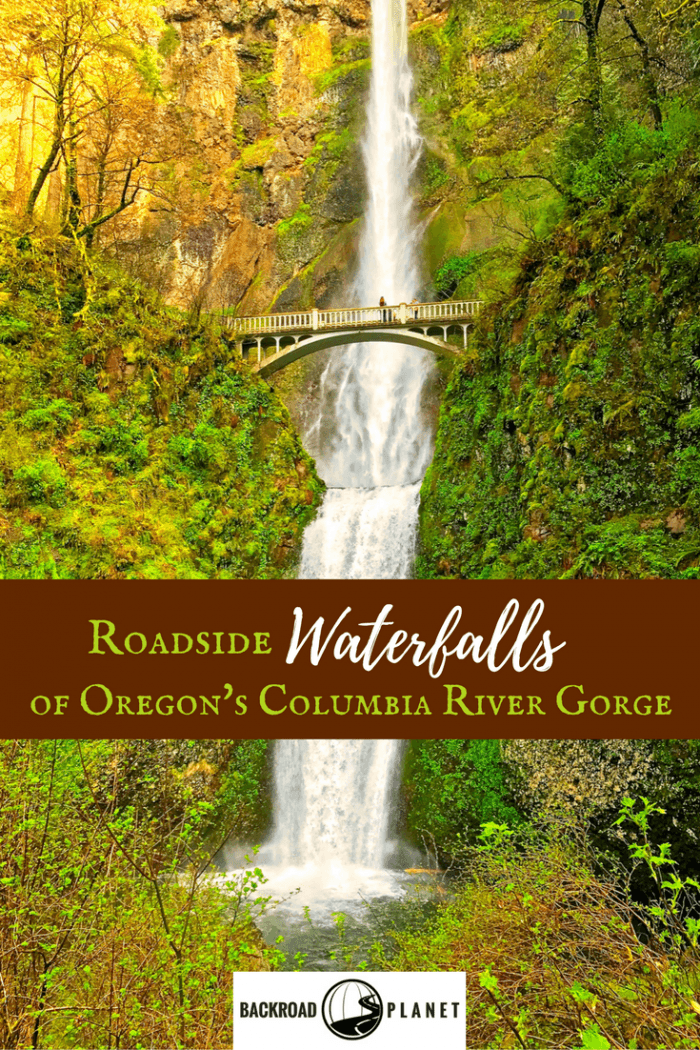 Tour seven of Oregon's roadside Columbia River Gorge waterfalls with this convenient 3 to 4-hour itinerary along the Historic Columbia River Highway. #travel #TBIN #Oregon #waterfalls