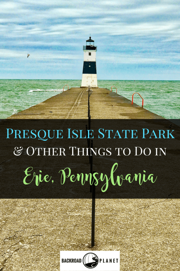 Even when on a tight schedule, don't miss Presque Isle State Park, Escape Game, Sara's Diner, and other fun things to do in Erie, Pennsylvania. #travel #TBIN #Erie #Pennsylvania