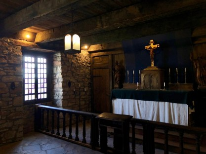French Castle chapel at Old Fort Niagara