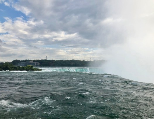 Horseshoe Falls from the US side