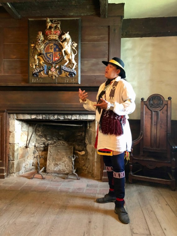 Jordan Smith, Mohawk interpreter at Old Fort Niagara