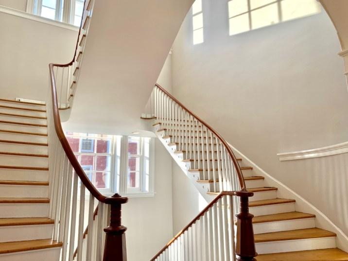 Blackburn Inn Stairwell - Fun Things to Do in Staunton Virginia