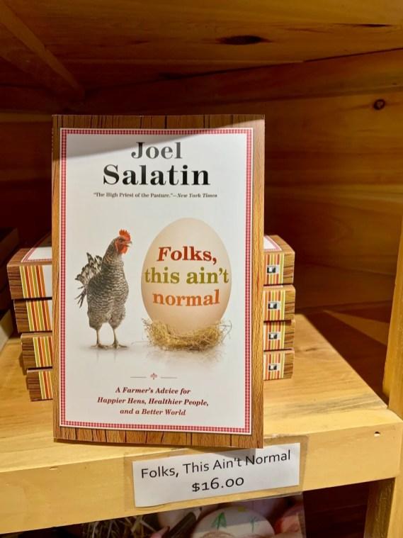 Folks This Aint Normal book Joel Salatin