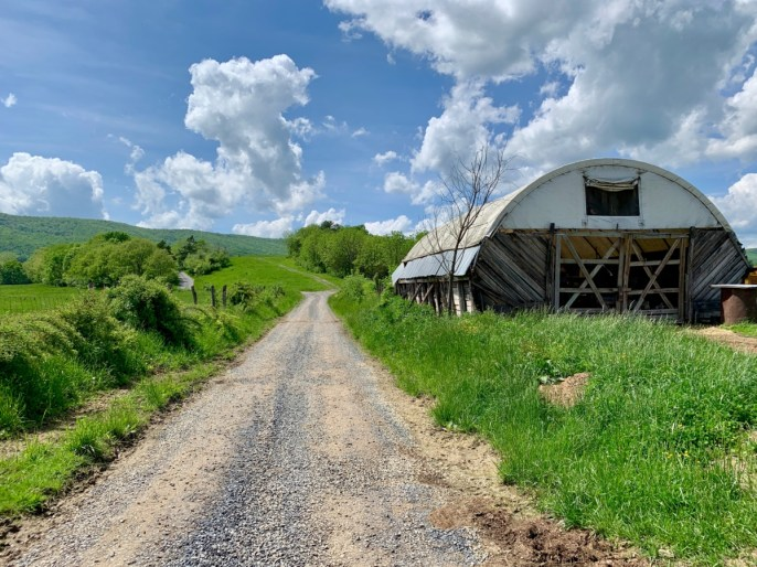 Polyface Farm Road - Fun Things to Do in Staunton Virginia